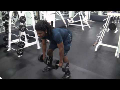 Cornerback Weight Training: Bent Rows (Dumbbells)