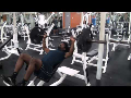 Cornerback Weight Training: Inclined Barbell Bench Press