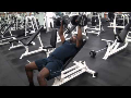 Cornerback Weight Training: Inclined Dumbbell Bench Press