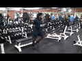 Cornerback Weight Training: Lunge Circuit