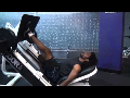 Cornerback Weight Training: One Legged Press