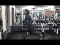 Cornerback Weight Training: Dumbbell One-Legged Squats