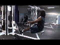 Cornerback Weight Training: Seated Rows