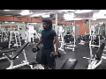 Cornerback Weight Training: Shoulder Circuit