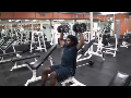 Cornerback Weight Training: Shoulder Press