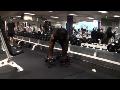 Cornerback Weight Training: Straight-Legged Deadlifts